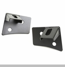 Windshield Mount Light Bracket Wrangler 2007-2017 Txtrd Blk - Pair