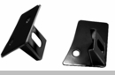 Windshield Light Mounting Brackets Wrangler JK 2007-2017 in Black