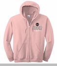Women's Pink Jeep Outfitters Wrangler Grille Hooded Sweatshirt