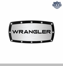 Wrangler Logo Billet Hitch Cover