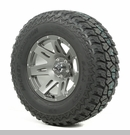 "XHD Wheel/Tire Package Wrangler 2013-2017 17x9"" Gun Metal 305/65R17"