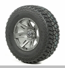"XHD Wheel/Tire Package Wrangler 2013-2017 17x9"" Gun Metal 315/70R17"