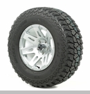 "XHD Wheel/Tire Package Wrangler 2013-2017 17x9"" Silver 315/70R17"