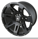 XHD Wheel Wrangler JK 2007-2017 Black Satin by Rugged Ridge - 18x9""