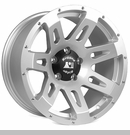 XHD Wheel Wrangler JK 2007-2017 Silver by Rugged Ridge - 18x9""