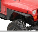 XRC Front Tube Fenders - Jeep CJ7 1976-1986