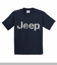 Youth T-Shirt with Distressed Jeep Logo