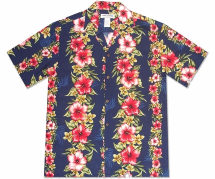 Aloha Mood Navy Hawaiian Shirt