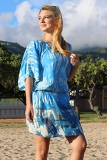 Angels by the Sea Blue Tie Dye Tunic