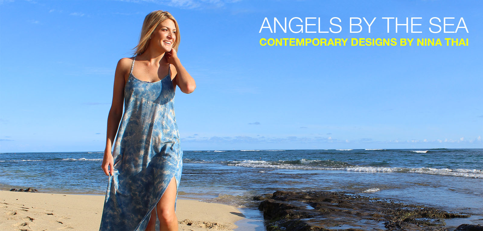 Angels by the Sea Hawaii dresses, rompers and tunics