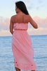 Angels by the Sea High-Low Coral Dress