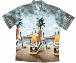 Big Beer Green Hawaiian Shirt