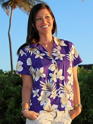 Fitted Women's Hawaiian Shirts