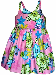 Groovy Girl Pink Girl's Bungee Dress