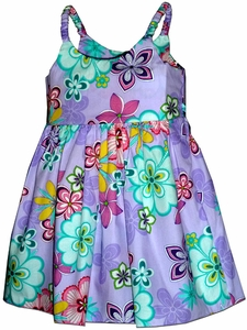 Groovy Girl Purple Girl's Bungee Dress