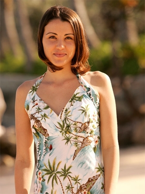 Halter Hawaiian Dress