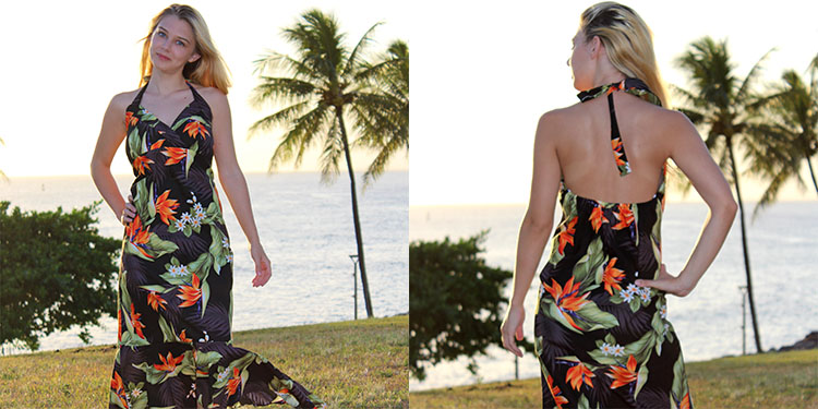 Hawaiian Halter Dresses