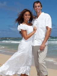 Hawaiian Luau Wedding Dress_Wedding Dresses_dressesss