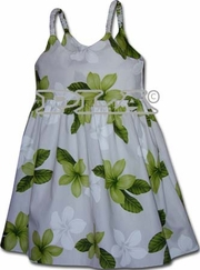 Island Baby Lime Girl's Bungee Dress