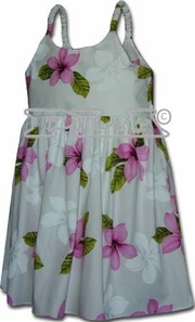 Island Baby Pink Girl's Bungee Dress