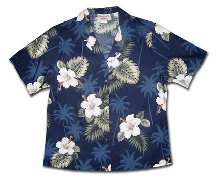 Island Deep Sea Women's Hawaiian Shirt