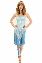Lani Short Dress in Abstract