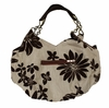 Large Daisy Checkered Chain Bag