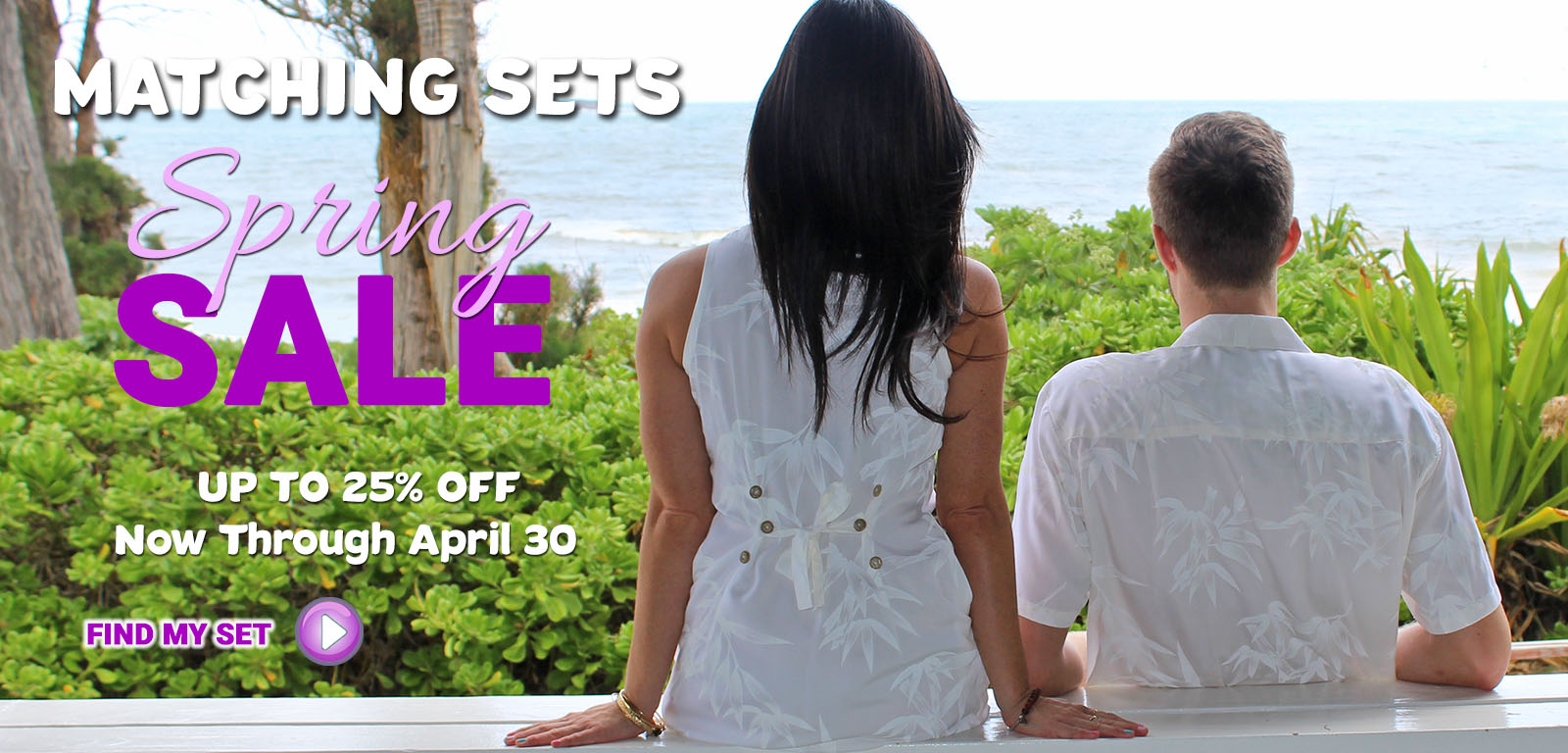Matching Shirts and Dresses Spring Sale