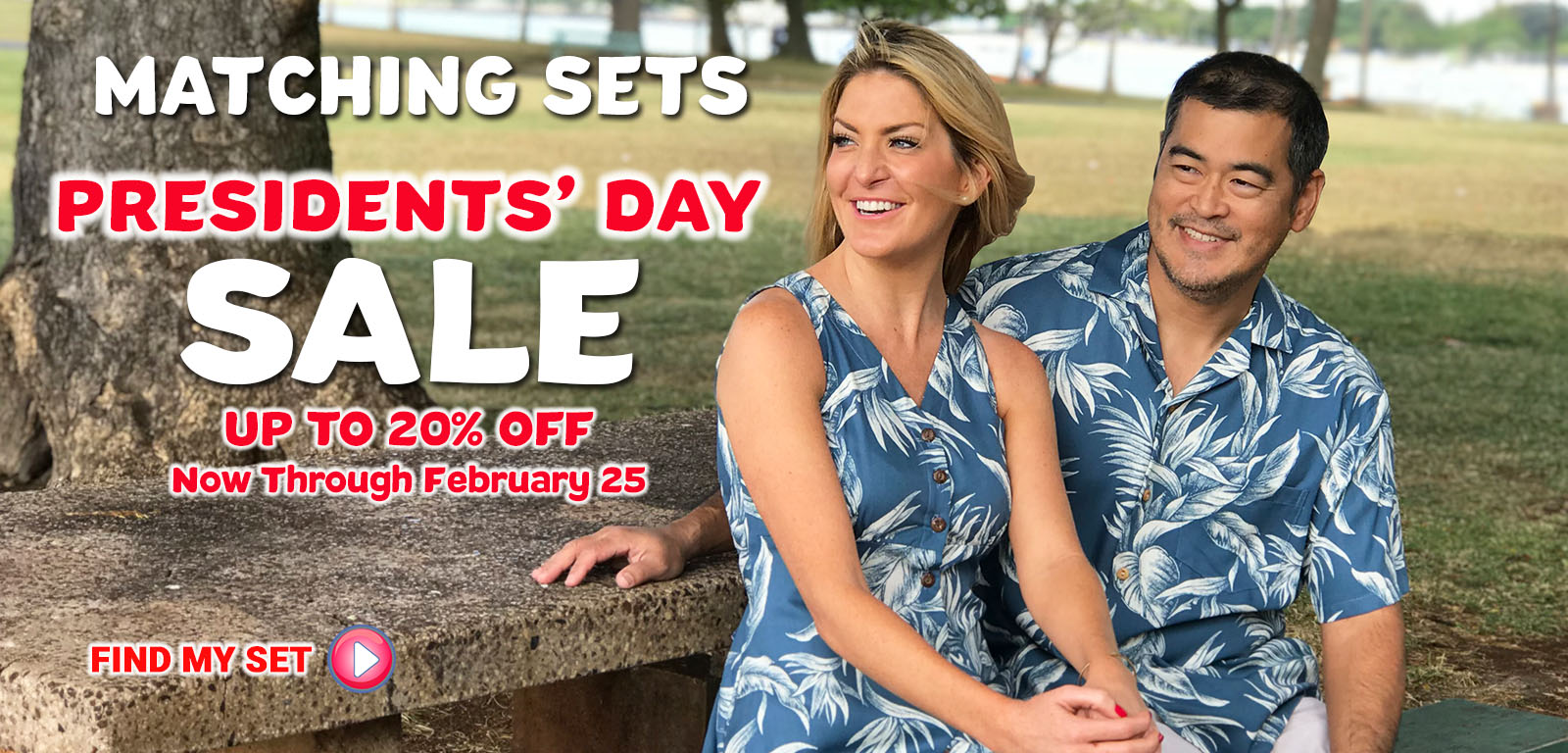 Matching Shirts and Dresses Presidents' Day Sale