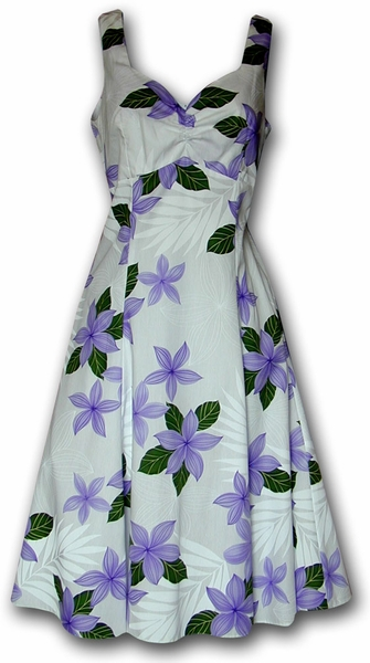 Morning Passion Purple Tank Sun Dress
