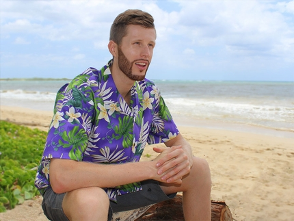Mr Monstera Purple Hawaiian Shirt