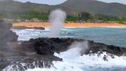 Natural Surf Powered Water Spout