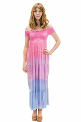Nikole Long Dress in Ombre