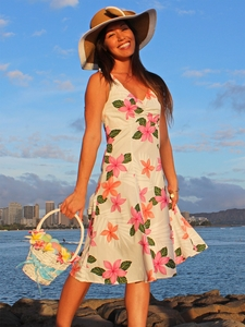 Morning Passion Pink Tank Sun Dress