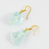 Sea Glass Gumdrop Earrings