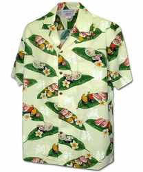 You Had Me at Sushi Cream Hawaiian Shirt