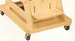 "TherAdapt 3 ½"" high Mobile Base - click here to enlarge"