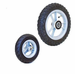 "Convaid 7.5"" x 2"" Front, 12.5"" Rear Pneumatic Knobby Tires - click here to enlarge"