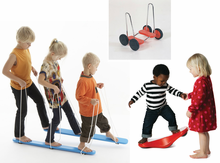 American Educational Products BALANCE KIT #2: Alternating Leg Movements