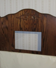 Beds by George Clear View Window in Headboard - UPGRADE