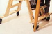 """Kaye Products Caster base with 4"""" locking casters - click here to enlarge"""