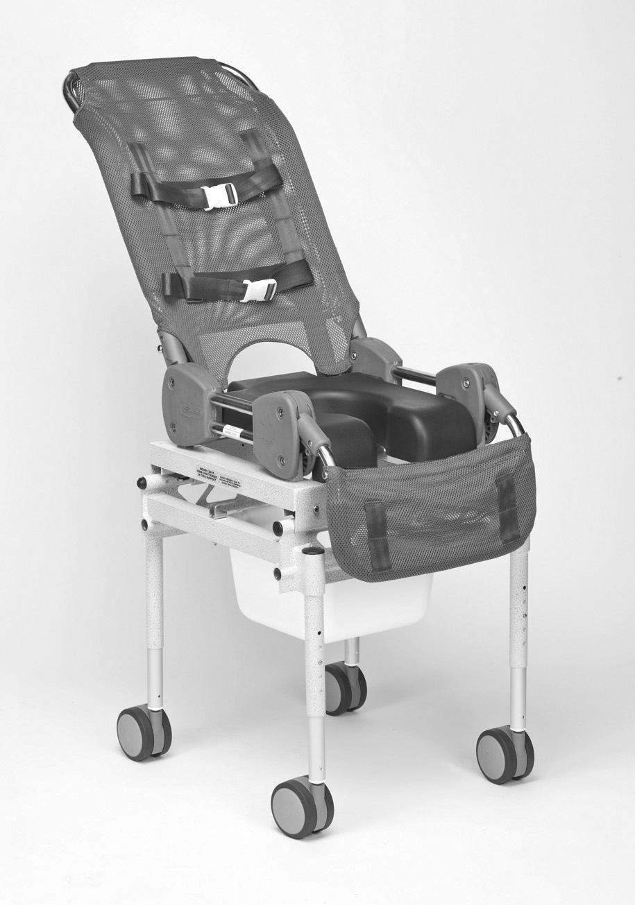 Columbia Medical Ultima Access Rolling Shower/Commode Chair ...