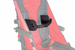 Convaid Contoured Lateral Thoracic Support - Left Side (Rodeo Models Only) - click here to enlarge