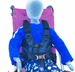 Convaid Full Torso Swing-Away Support Vest - click here to enlarge