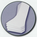 4 White Foam Lateral Cushions - click here to enlarge
