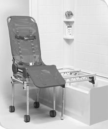 Columbia Medical Ultima Bath Transfer with Foldable Base - 3-in-1 ...