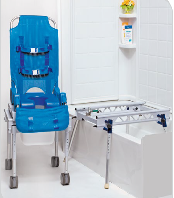 Columbia Medical Ultima Access Bath Transfer With Foldable