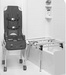 Columbia Medical Ultima Access Bath Transfer with Foldable Base