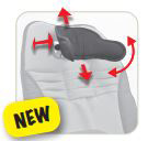 New Bug Ergonomic Headrest - Includes hardware