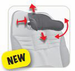 New Bug Ergonomic Headrest - Includes hardware - click here to enlarge
